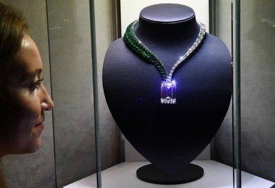 Subastarán en Ginebra el mayor diamante color D