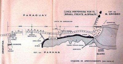 Saltos del Guairá y el subterfugio del Acta Final de Foz de Yguazú