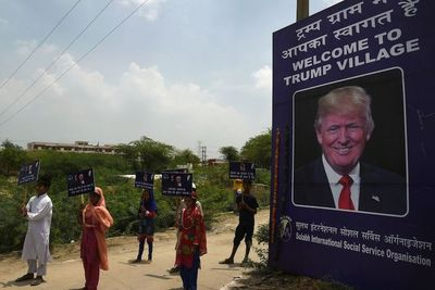 """Pueblo de India cambia de nombre para llamarse """"Trump"""""""