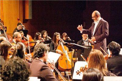 Recital de ensamble de cellos de la OSN