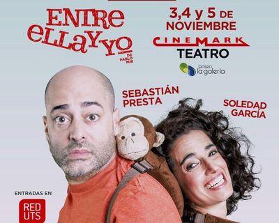 La comedia Entre ella y yo, con Sebastián Presta, llega a Paraguay