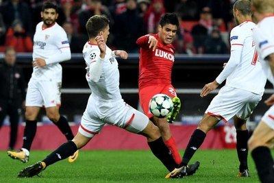 Melgarejo aporta para la goleada del Spartak