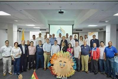 Atletas paraguayos listos para los XVIII Juegos Bolivarianos