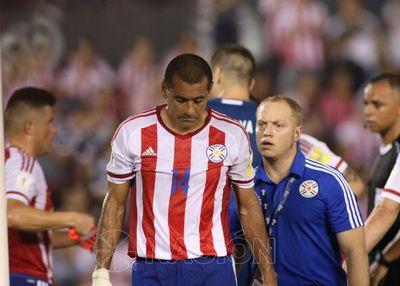 Arce afirma que no se equivocó al hacer jugar a Da Silva en lugar de Balbuena