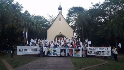 Familia de Schoenstatt pide paz en el Norte