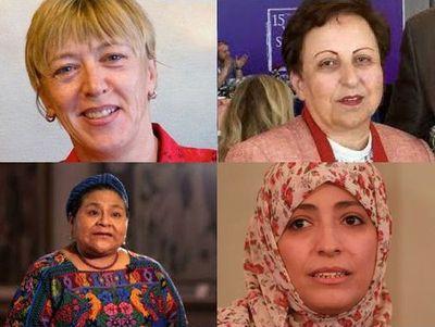 Mujeres Nobel de la Paz investigarán violencia en Guatemala y Honduras