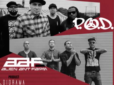 P.O.D. y Alien Ant Farm se presentarán este sábado por primera vez en Paraguay
