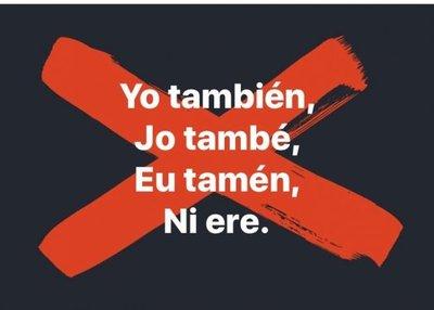 #YoTambién llegó a Paraguay para visibilizar acosos