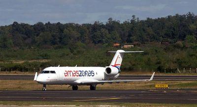Amaszonas Paraguay crece y amplia sus rutas a Brasil y Argentina
