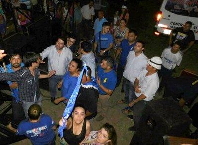 Hijo de ministro Blanco incidentó en fiesta liberal
