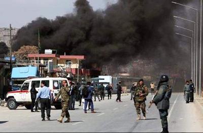 Casi 60 muertos por un doble atentado terrorista en Afganistán