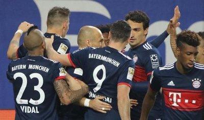 Bayern sufre para doblegar de visitante al Hamburgo