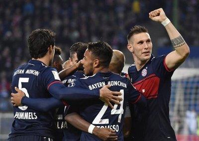 Bayern sufre para doblegar al Hamburgo
