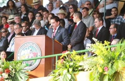 Baruja mencionó los avances del MAG en la inauguración de la Expo