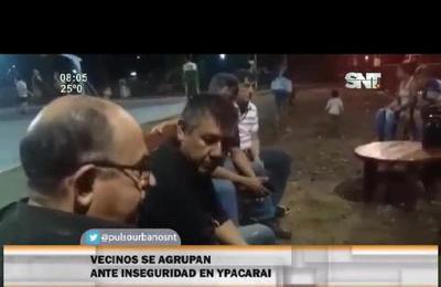 Reunión vecinal: Ola delictiva azota a Ypacaraí