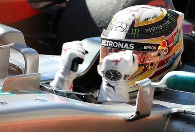 Hamilton, a un paso; Mercedes ya festeja