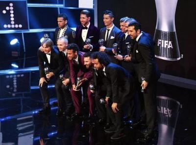 La FIFA eligió el equipo ideal de la temporada