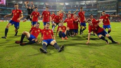 Inglaterra y España son finalistas del Mundial Sub 17