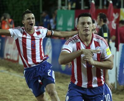 Fútbol Playa: Paraguay debuta el martes ante Irán, en Dubai