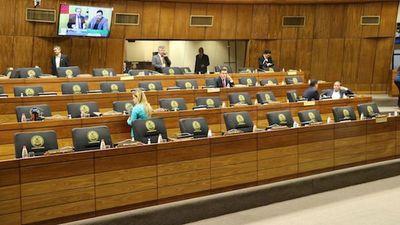Masiva ausencia de senadores deja sin quórum sesión ordinaria