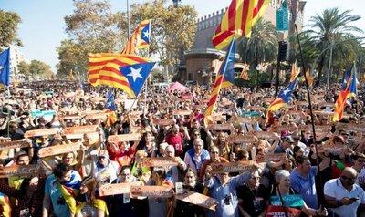 La comunidad internacional no reconoce la independencia catalana
