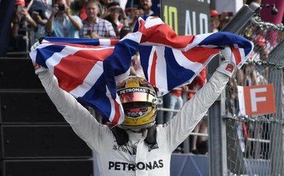 Hamilton es el campeón mundial de la Fórmula 1