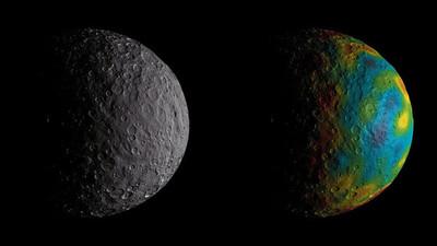 La NASA encuentra rastros de un antiguo océano en el planeta Ceres