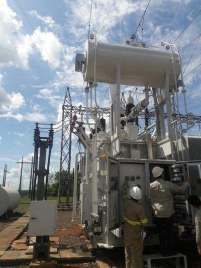 Nuevo sistema de transmisión de la Ande en Horqueta