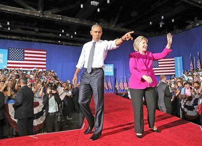 En EEUU es activa la participación del presidente en apoyo al candidato