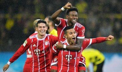 El Bayern derrota al Dortmund y es más líder