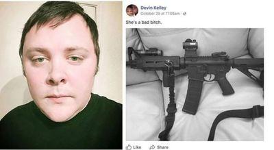 Tirador en Texas exhibe fusil utilizado en matanza