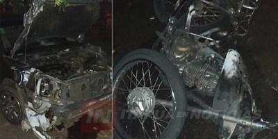 MENOR AL MANDO DE MOTOCICLETA FALLECIÓ TRAS ACCIDENTE