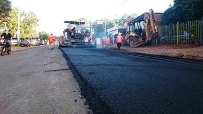 Anuncian pavimentación en tramos urbanos en Capiatá