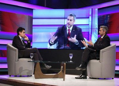 Abdo evidenció, otra vez, falta de propuestas y de preparación