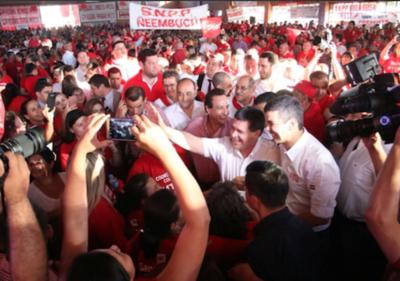 Santi aventaja a Marito en Asunción y Central: creció 9,7 en dos meses