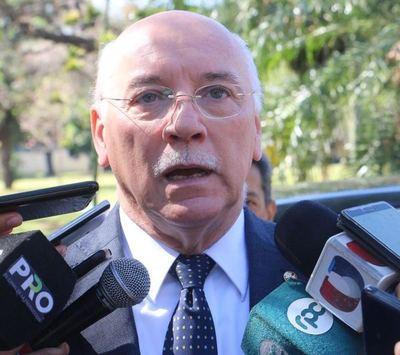 Canciller mantendrá reunión con su par de Brasil sobre estado de acuerdo Mercosur-UE