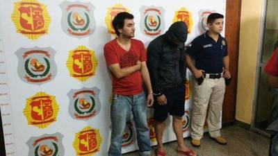 Dos detenidos por robo de G. 82 millones en tintorería