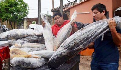 Control de veda: SEAM incauta pescados