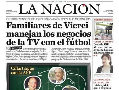 Lazos de familia de AJ Vierci y el negocio con grupo de FIFA Gate