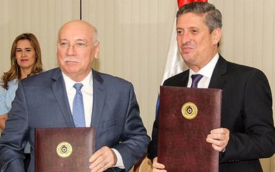 TSJE y Cancillería firman convenio con miras a las próximas elecciones