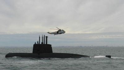 Submarino argentino sigue desaparecido