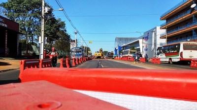 Calle Leopardi permanecerá clausurada por dos semanas