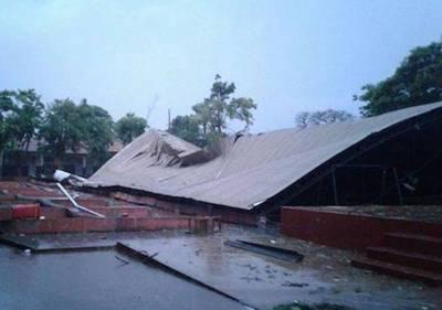 Temporal en Ciudad del Este deja 950 familias afectadas