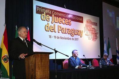 Convención reúne a 553 jueces de todo el país