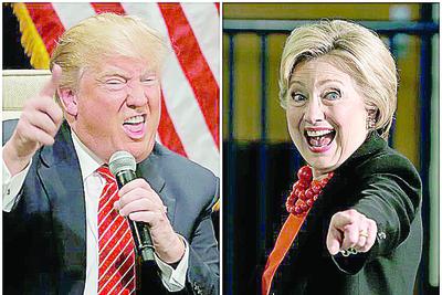 Crece rivalidad entre Trump y Hillary