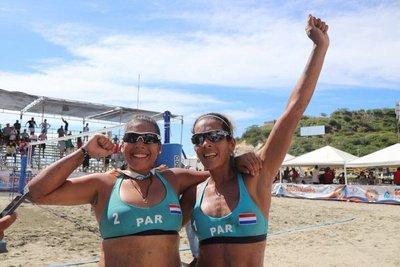 Dupla paraguaya consigue el oro en final de vóley de playa