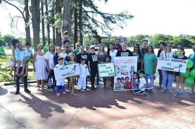 Protestan contra abuso infantil en CDE