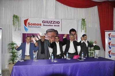 Arnaldo Giuzzio presenta candidatos a diputado y a la Junta Departamental