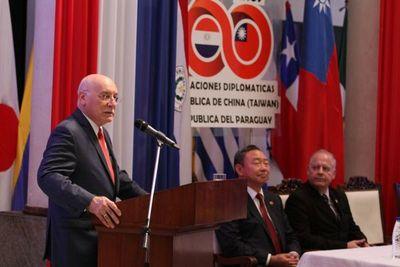 Secretario general de cooperación internacional de Taiwán llega al Paraguay