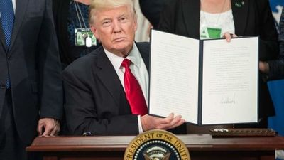 Trump sacudió al mundo en sus primeros 100 días